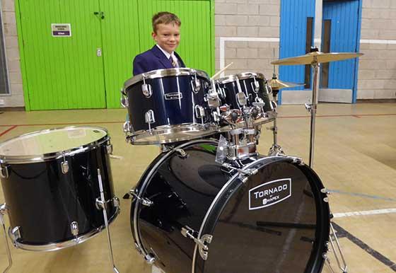 New Drum Kit